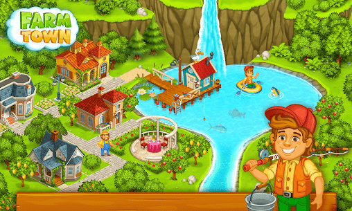 Farm Town: Happy farming Day & food farm game City 7