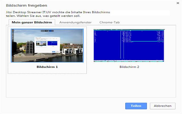 Jitsi Desktop Streamer IT.UV
