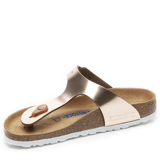 Thumbnail images of Birkenstock Gizeh Metallic Sandal