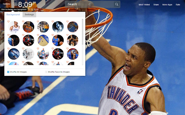 Russell Westbrook Wallpapers Theme New Tab
