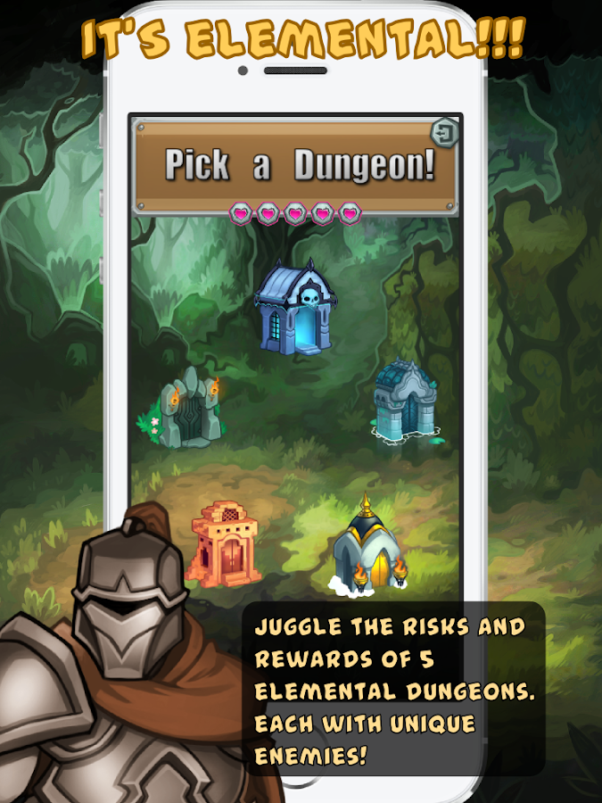 Dungeon Slammers Drop- screenshot