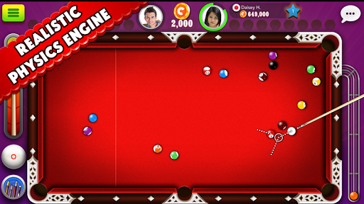 Pool Strike Online 8 ball pool billiards with Chat screenshot 2