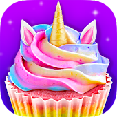 Unicorn Food - Sweet Rainbow Cupcake Desserts