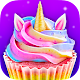 Unicorn Food - Sweet Rainbow Cupcake Desserts APK