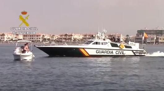 La Guardia Civil inicia la campaña estival de control de embarcaciones