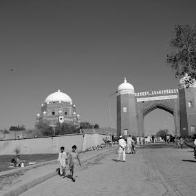 Castle Qasim by Khawaja Hamza - City,  Street & Park  Historic Districts ( pakistan, shah rukan-e-alam, multan, kila qasim, punjab )