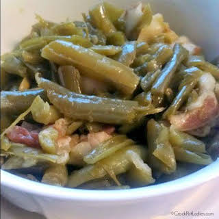 Crock-Pot Easy Green Beans and Bacon.