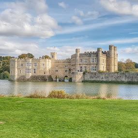 Leeds Castle,UK by Poli Paunova - Buildings & Architecture Public & Historical ( castle, uk, kentucky, landscape )