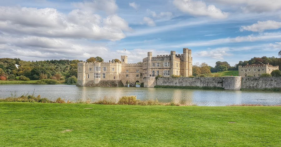 Leeds Castle,UK by Poli Paunova - Buildings & Architecture Public & Historical ( castle, uk, kentucky, landscape )