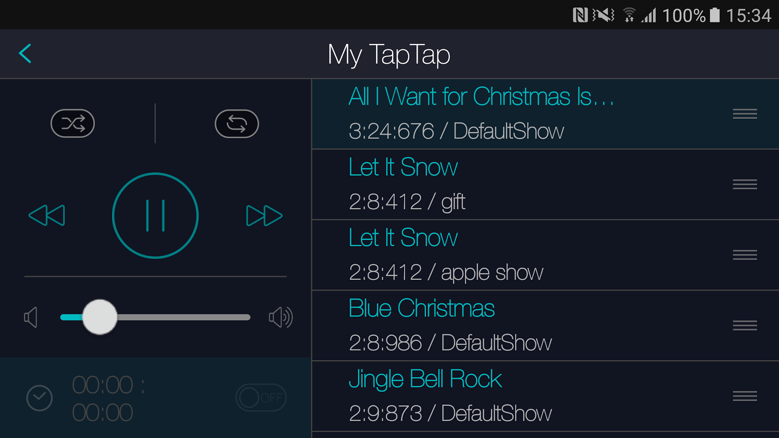 TapTap - Christmas Light Show- screenshot