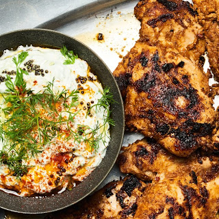 Chile-and-Yogurt-Marinated Grilled Chicken.