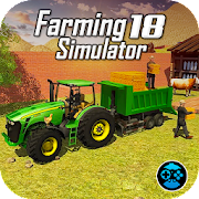 Tractor Driving Plow Farming Simulator Game
