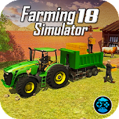 Tractor Driving Real 3D Farm Simulator Games 2018