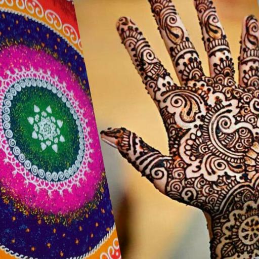 娛樂App|10,000+ Mehndi Rangoli Designs LOGO-3C達人阿輝的APP