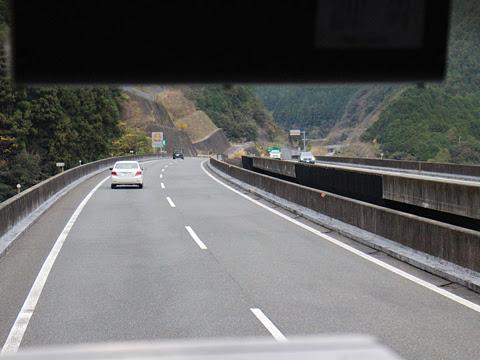 阪急バス「よさこい号」昼行便 2891 車窓 その2