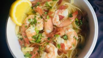 Bacon Shrimp Scampi Recipe