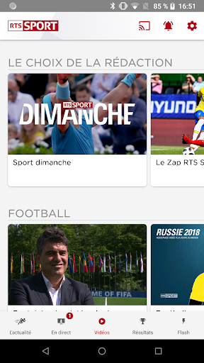 RTS Sport - screenshot