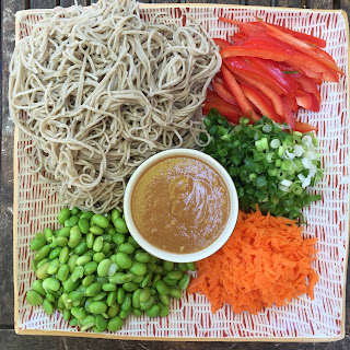 Soba Noodle Salad with Creamy Peanut Butter Dressing