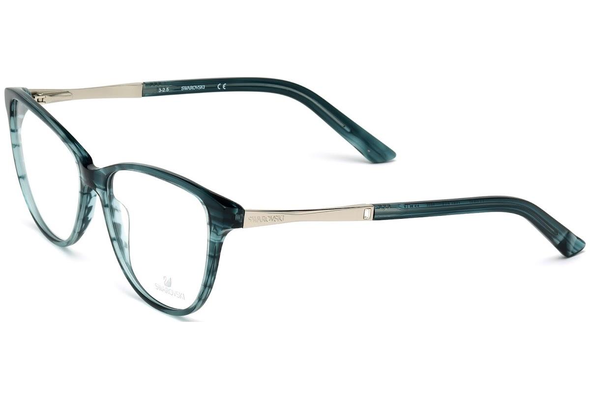 Comprar Monturas Swarovski Fergie SK5197 C55 098 (dark green/other ...