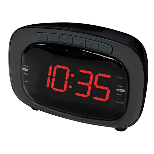 Denver CR-422 Clock Radio Black