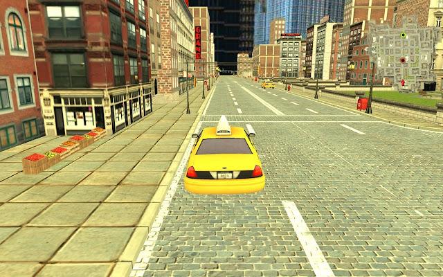 محاكاة سيارة أجرة