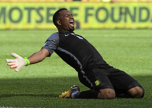 Itumeleng Khune should be in action within a month