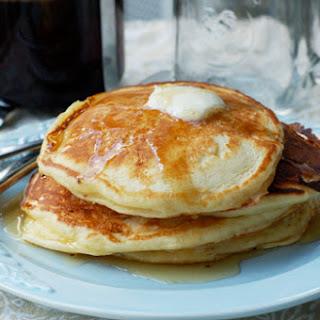 Mascarpone Rosewater Pancakes
