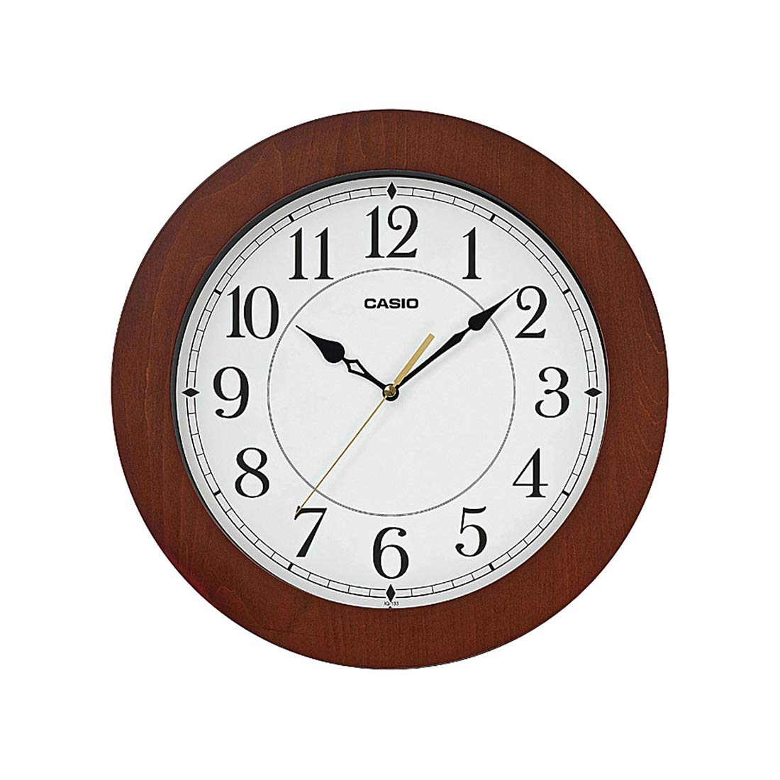 Casio Round Resin Wall Clock
