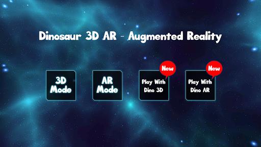 Code Triche Dinosaur 3D AR - Augmented Reality mod apk screenshots 1