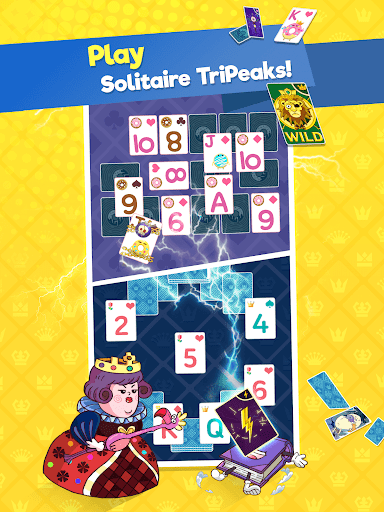 Theme Solitaire - Tower TriPeaks screenshot 15
