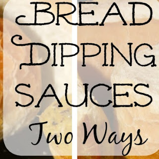 Bread Dipping Sauces Two Ways Using European Olive Oil.