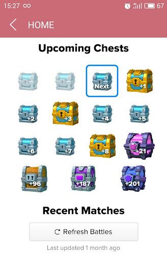 Stats Clash Royale