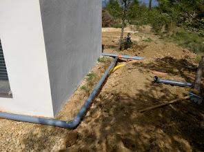 Photo: regenwater afvoer