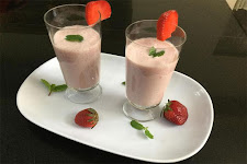 Strawberry Apple Lassi