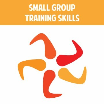 Specialized training in small group training skills.