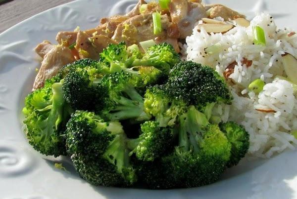 Lemon Broccoli Florets Recipe