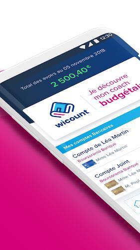 Boursorama Banque Android App Screenshot