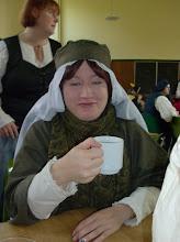 Photo: Alanis und ihr Tee.