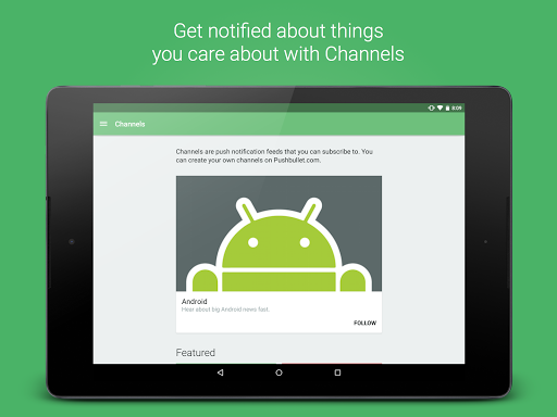 Pushbullet - SMS on PC and more screenshots 10
