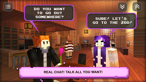 Date Craft: Girls & Boys, Love Choices Dating Game 1.9 screenshots 2