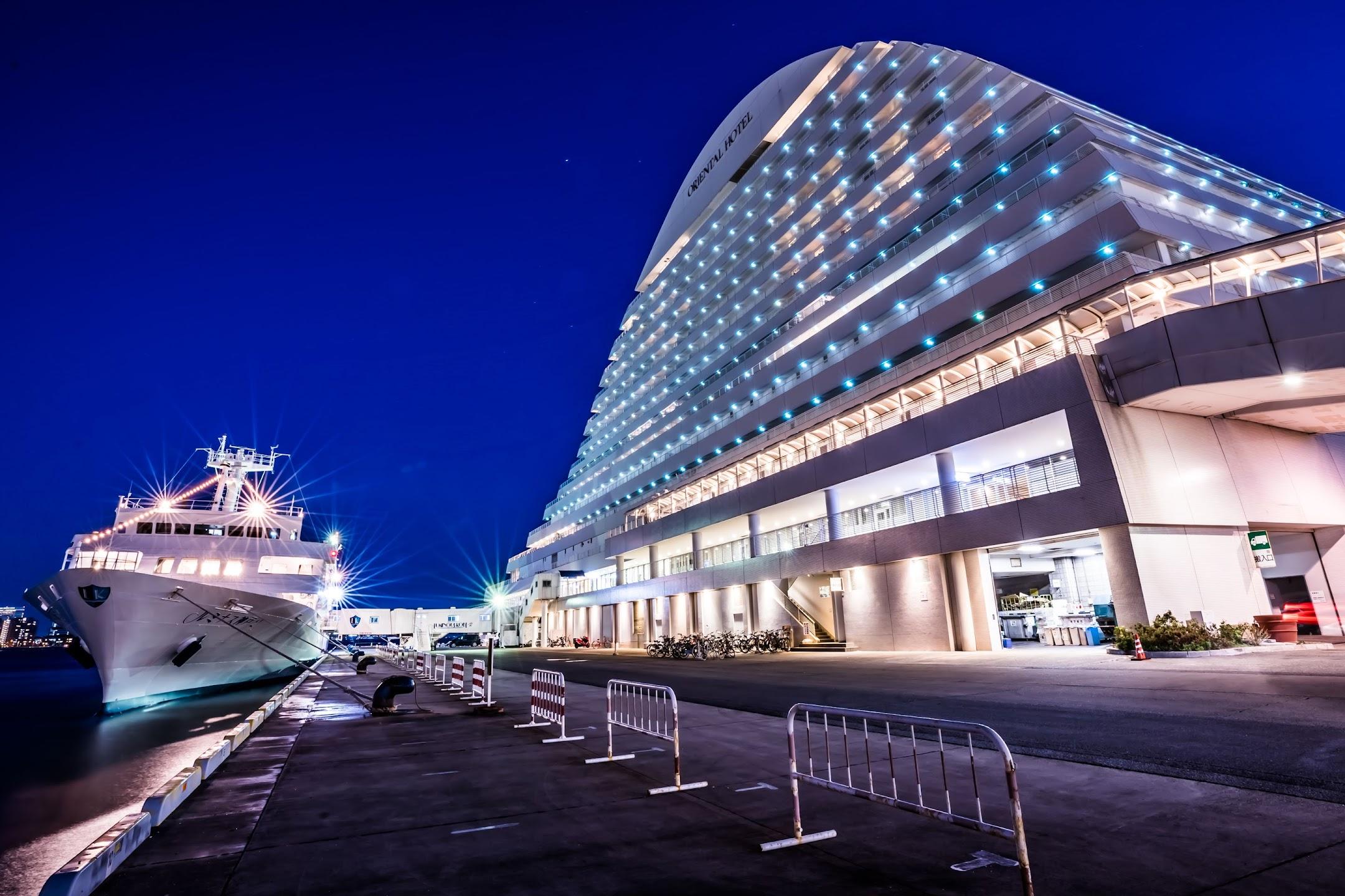 Kobe uminous Kobe 2 Kobe Meriken Park Oriental Hotel night view