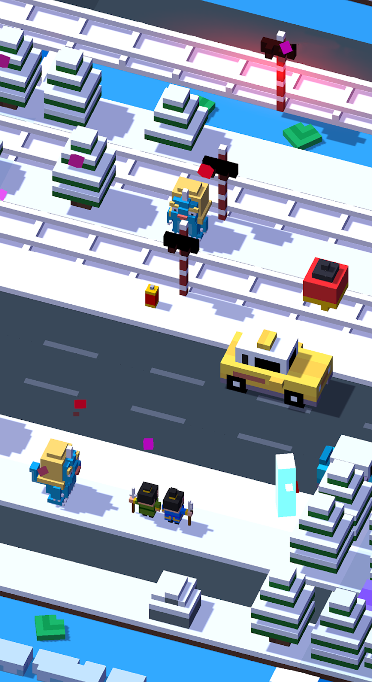 Crossy Road (MOD, Coins/Unlocked) 2