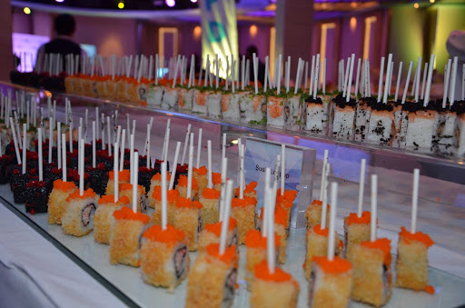 Sushi lollipops: one of the yummy perks of a getaway on a Celebrity Cruises sailing.