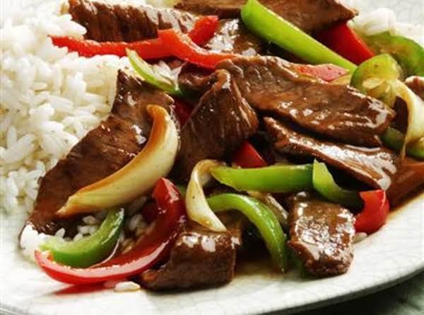 Classic Chinese Pepper Steak Recipe