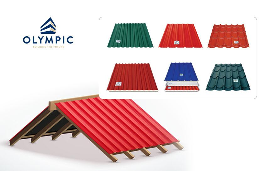 Tôn lợp mái Olympic - giải pháp chống nồm ẩm hiệu quả