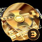 金色指尖旋轉的鍵盤 icon