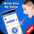 Write SMS by voice apk