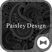 Stylish Wallpaper Paisley Design Theme