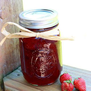 Basic Homemade Strawberry Jam.