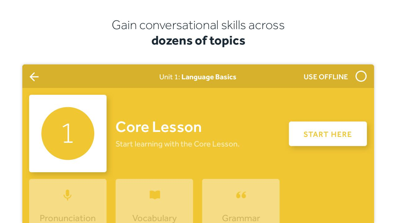 Rosetta Stone: Learn to Speak & Read New Languages- screenshot